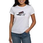 Briefcase on Gurney Women's T-Shirt