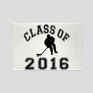 Class Of 2016 Hockey Rectangle Magnet