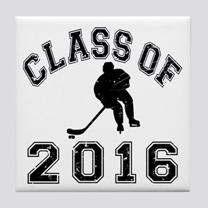 Class Of 2016 Hockey Tile Coaster