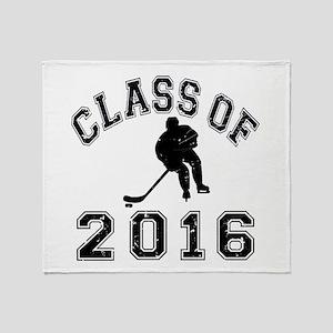 Class Of 2016 Hockey Throw Blanket