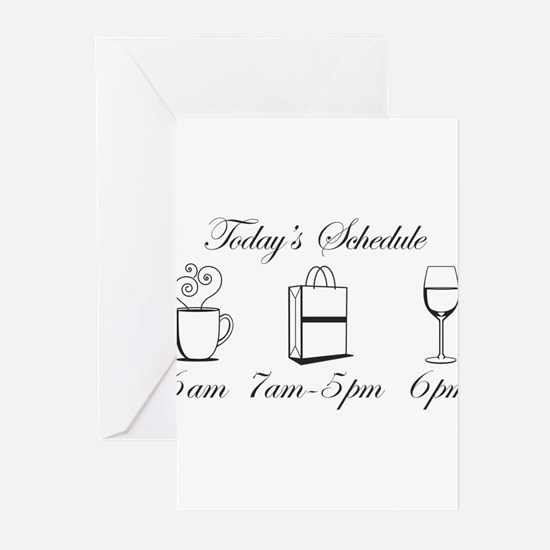 Today's Schedule - Shop till Greeting Cards (Pk of