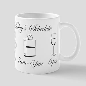 Today's Schedule - Shop till Mug