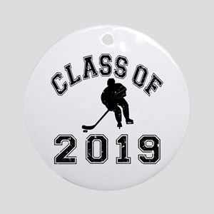 Class Of 2019 Hockey Ornament (Round)
