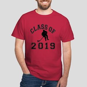 Class Of 2019 Hockey Dark T-Shirt