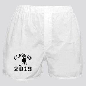 Class Of 2019 Hockey Boxer Shorts