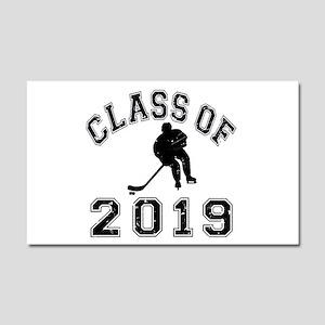 Class Of 2019 Hockey Car Magnet 20 x 12