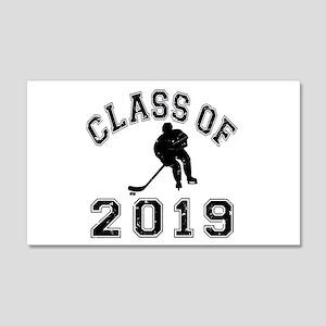 Class Of 2019 Hockey 22x14 Wall Peel