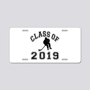 Class Of 2019 Hockey Aluminum License Plate
