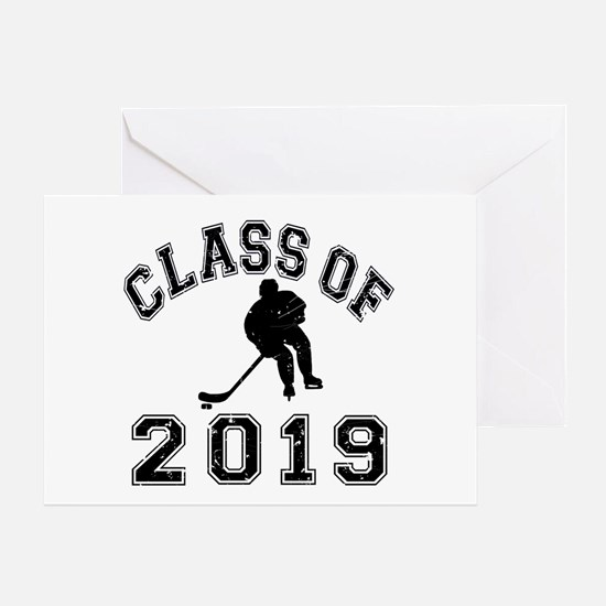 Class Of 2019 Hockey Greeting Card