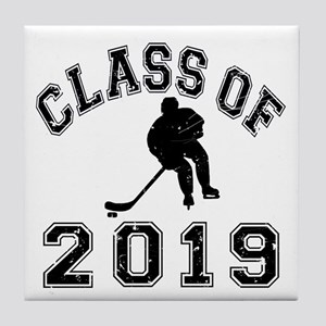 Class Of 2019 Hockey Tile Coaster