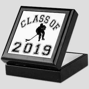 Class Of 2019 Hockey Keepsake Box