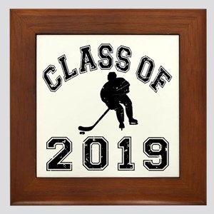 Class Of 2019 Hockey Framed Tile