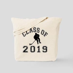 Class Of 2019 Hockey Tote Bag