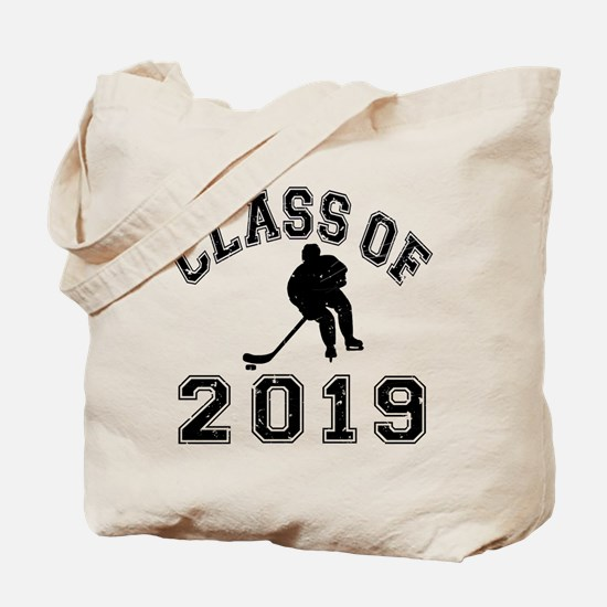 Class Of 2019 Hockey Tote Bag
