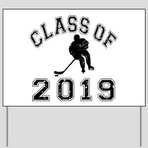 Class Of 2019 Hockey Yard Sign
