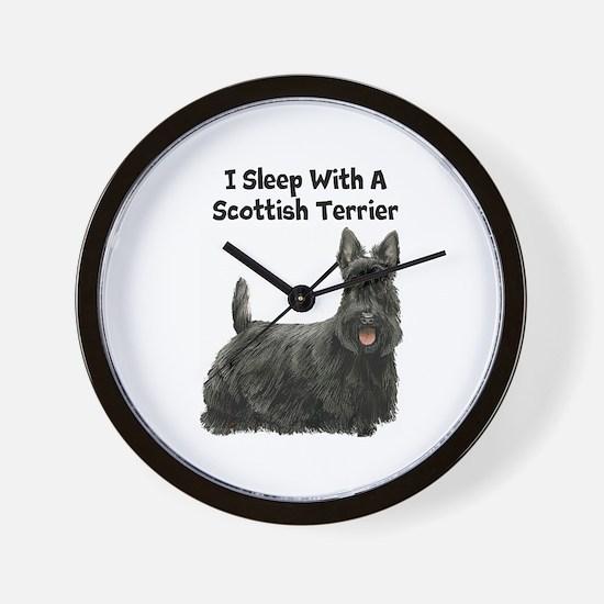 Scottish Terrier Wall Clock