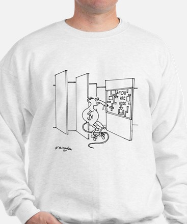 You Are Here Sweatshirt