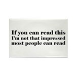 If You Can Read This Rectangle Magnet (10 pack)