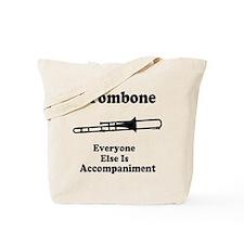 Trombone Gift Music Joke Tote Bag