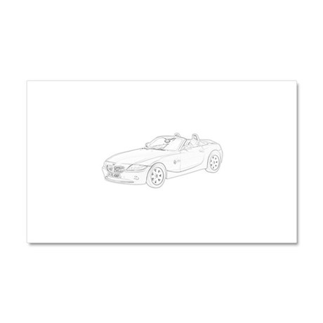 BMW Z4 Car Magnet 20 x 12