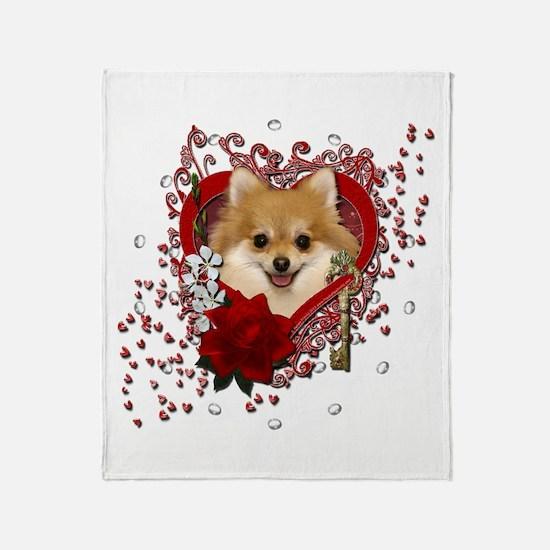 Valentines - Key to My Heart Pomeranian Stadium B