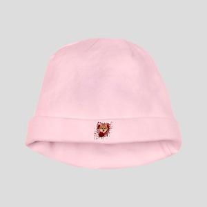 Valentines - Key to My Heart Pomeranian baby hat