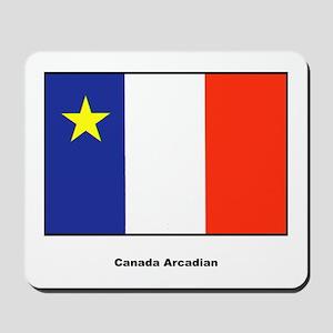 Canada Arcadian Flag Mousepad