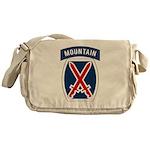 10th Mountain Messenger Bag