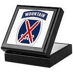 10th Mountain Keepsake Box