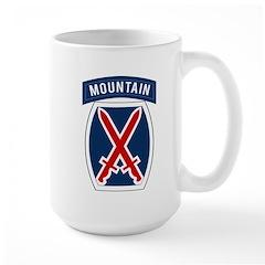 10th Mountain Large Mug