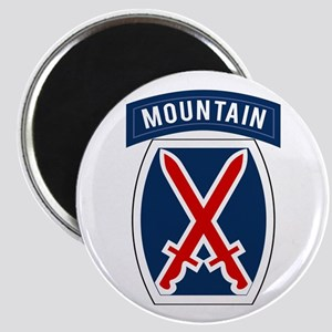10th Mountain Magnet