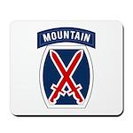 10th Mountain Mousepad