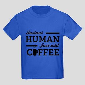 Instant Human Kids Dark T-Shirt