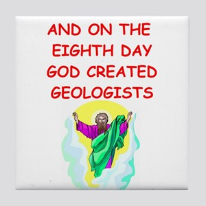 geologists Tile Coaster