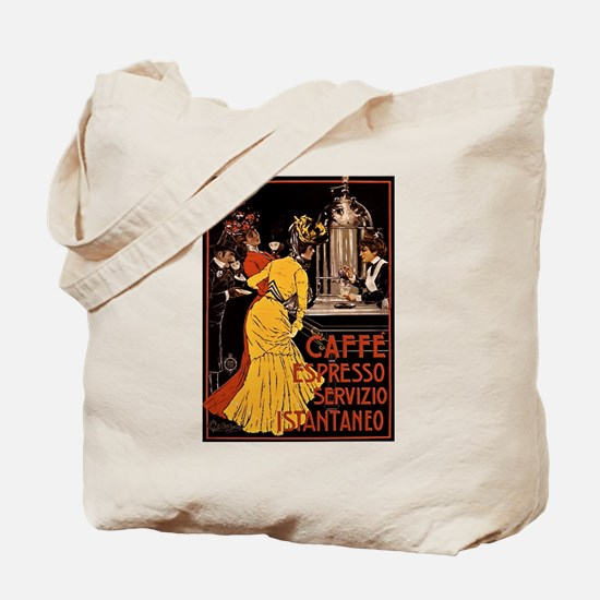 Cafe Espresso Tote Bag
