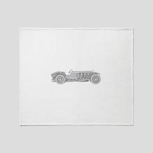 Mercedes-Benz SSK 1928 Throw Blanket