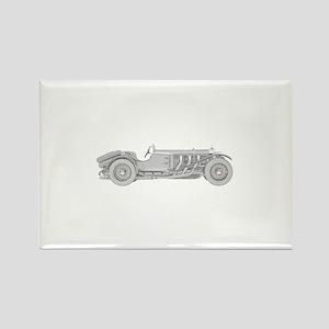 Mercedes-Benz SSK 1928 Rectangle Magnet