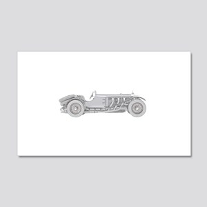 Mercedes-Benz SSK 1928 22x14 Wall Peel