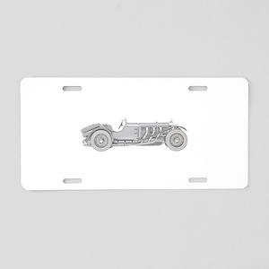 Mercedes-Benz SSK 1928 Aluminum License Plate