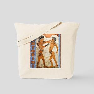 Santorini Boxers Tote Bag
