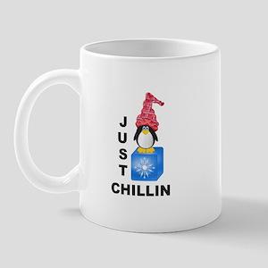 Just Chillin Penguin Mug