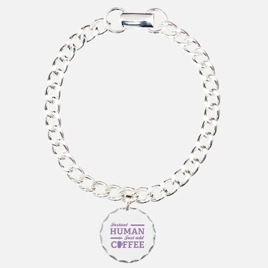 Instant Human Charm Bracelet, One Charm