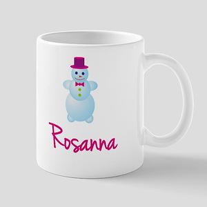 Rosanna the snow woman Mug