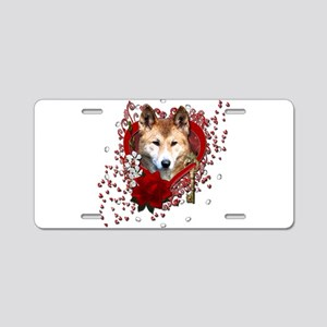 Valentines - Key to My Heart Dingo Aluminum Licens