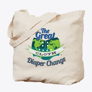 Great Cloth Diaper Change Tote Bag