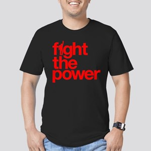 Fight the Power Men's Fitted T-Shirt (dark)