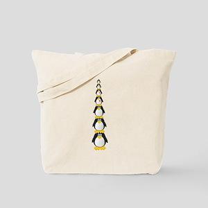 Penguin Pile Tote Bag