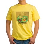 Fishbowl Rebellion Yellow T-Shirt