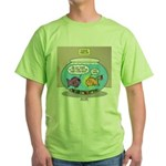 Fishbowl Rebellion Green T-Shirt