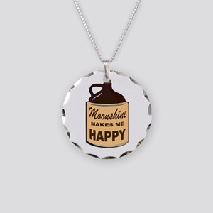 SHINE IS FINE Necklace Circle Charm